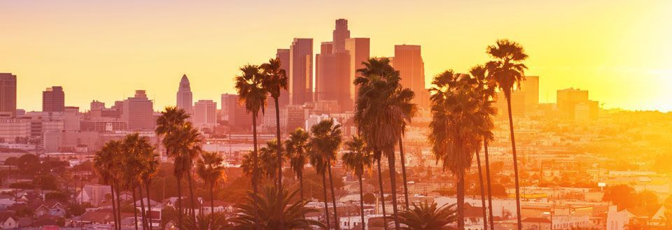 Find en billig flybillet til Los Angeles